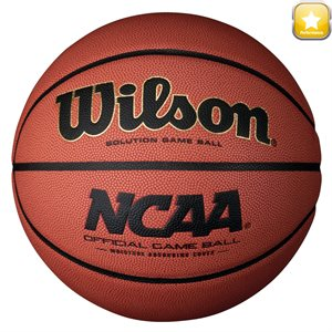 Ballon de basketball Wilson NCAA Solution