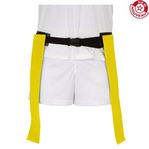 Ceinture de flag-football, jaune