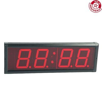 horloge programmable avec minuteur d 39 intervalle. Black Bedroom Furniture Sets. Home Design Ideas