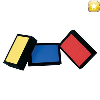Set Of 3 Velvet Bricks