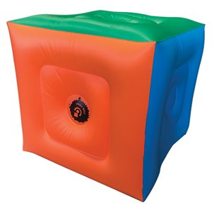 Cube gonflable pour Poull ball