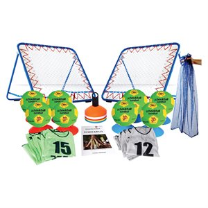 Ens. de 43 items de tchoukball, enfant