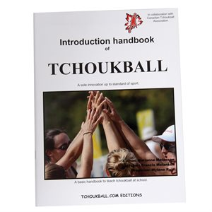 Manuel bilingue d'instructions de tchoukball, 23p.
