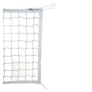 Filet de volleyball bandes 4 côtés, 2,5mm, 32'