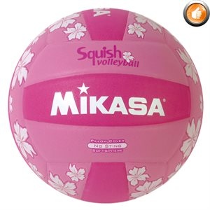 Ballon de volleyball de plage Squish®, rose
